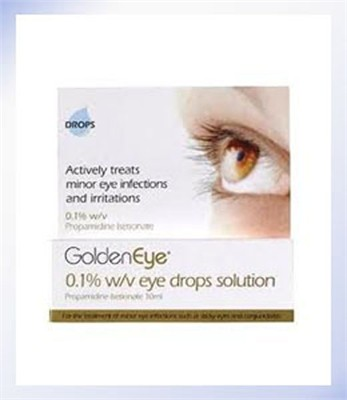 GoldenEye Eye Drops Solution