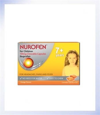 Nurofen for Children 7+ Soft Chews x12