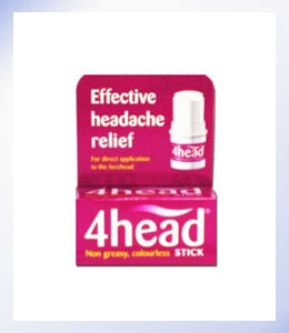 4head Natural Headache Treatment Stick