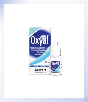 Oxyal Sterile Eye Drops