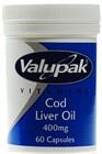 Valupak Cod liver Oil 400mg