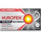 Nurofen Pain Relief Max Strength 512mg Sodium Ibuprofen x24